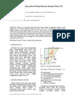Analisa Beban Gempa pada Dinding Besmen dengan Plaxis 2D (Seminar PIT HATTI 2013)