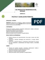 Obtencion de Productos Maderables en Bosques