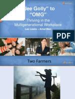 Lewis - Multigenerational Workplace Handout Slides
