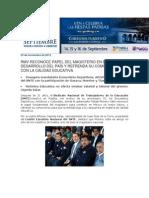 22-11-2013 Blog Rafael Moreno Valle - RMV RECONOCE PAPEL DEL MAGISTERIO EN EL DESARROLLO DEL PAÍS Y REFRENDA SU COMPROMISO CON LA CALIDAD EDUCATIVA