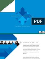 Underwriting Brochure MIB Solutions, Inc.