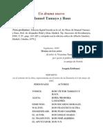 M. Tamayo y Baus - Un Drama Nuevo