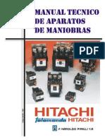 Manual Tecnico de Aparatos de Maniobra v00 2