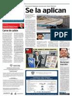 Domingo 24 de noviembre del 2013, Puntos y Contrapuntos de Pedro Mellado, página 4, sección Comunidad, periódico Mural, Grupo Reforma, en Guadalajara