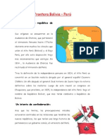 Frontera Bolivia