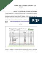 Estudio Del Mercado de La Panela en Colombia y El Mundo