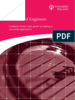 Chartered Engineer GUIDANCE NOTES 2012