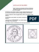 14590 - clavículas de salomão ou chaves de salomão - pantáculos - anônimo ok