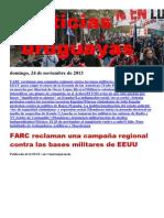 Noticias Uruguayas Domingo 24 de Noviembre Del 2013