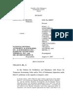 Chavez v. NHA, GR No. 164527, August 15, 2007