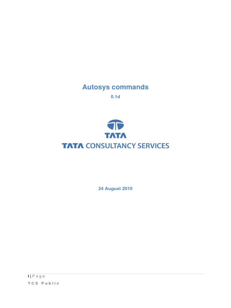 autosys jil validation web interface  autosys jobs deployment and