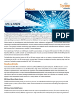 Tecore Networks - Datasheet - 3G UMTS eNodeB-Updated(2!24!12)