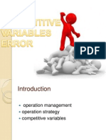 Copetitive Variables Error