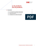Marketing Mix I (1.1) - Clasificacion de Productos
