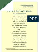 Himno de Guayaquil