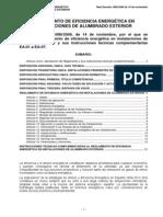 Reglamento eficiencia energética alumbrado exterior.pdf