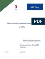 Energy Metering Standards 180910