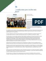 22-06-2013 El Sol de Puebla - Tiene Puebla condiciones para recibir más inversiones. RMV