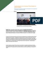 21-06-2013 Puebla Noticias - Participa RMV en la quinta Sesión de la Comisión Plural Estatal de Preservación del Entorno Político