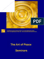 The Art of Peace Seminar by Luis Daniel Maldonado Fonken, the return of the mystic and mythic sacred warrior for peace