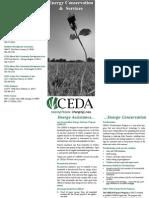 CEDA Energy Brochure 2009