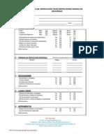 Formato de Inspección de áreas y tareas de alto riesgo