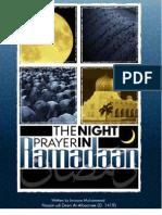 The Night Prayer in Ramadaan - al-Albaanee