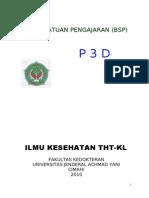 Buku Satuan Pengajaran p3d Tht Rev