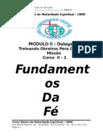 Módulo 2-1 Fundamentos Da Fe