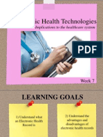 Electronic Health Records Week 7 FINAL PDF
