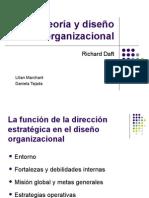 Teoria y Diseno Organizacional