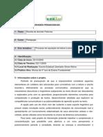 RELATÓRIO DE ATIVIDADES PEDAGOGICAS