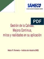 Gestión de la Calidad y Mejora Continua(14ppt)