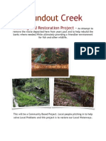 Creek Cleaning Project