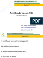 17 Amplificadores TBJ Compl_2011 2