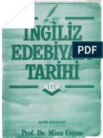 Mina Urgan - İngiliz Edebiyatı Tarihi III