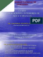 Instalaciones Interiores de Agua y Desague