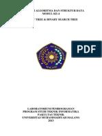 Modul Prakt 4 (Binary Tree & Binary Search Tree)