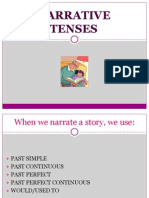 Narrative Tenses Ppt