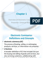 Electronic Commerce Overview by Emanuel Baisire