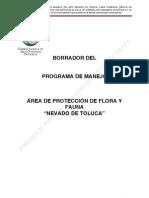 BORRADOR Nevado de Toluca