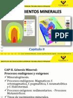 Yacimientos Minerales Capitulo II