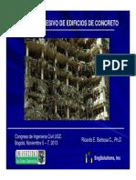 Colapso Progresivo Edificaciones Concreto Congreso Ing Civil Nov 05 Al 07 - 2013 - PhD Ricardo Barbosa