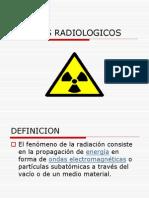 RIESGOS RADIOLOGICOS