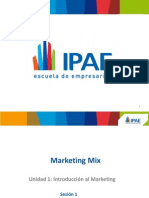 Sesion 1 Marketing Mix