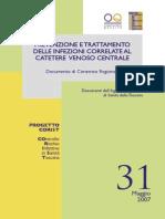 2007, Infezioni Di Catetere Venoso Centrale, Toscana