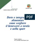 Diete_integratori Alimentari, Lazio, Forse 2003