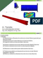 4 - Torsión