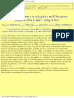2004, Urgenze Gastroenterologiche in Geriatria