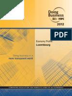 Profilul Economic Al Luxemburgului
